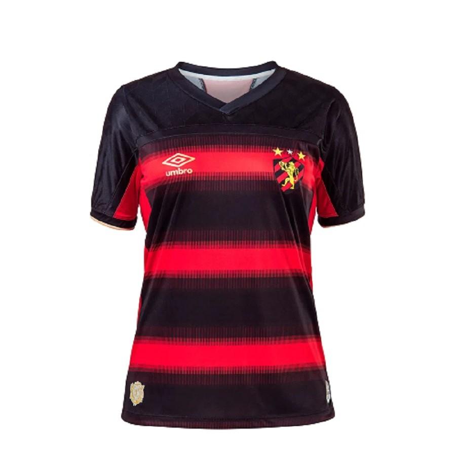 Camisa Sport Recife Umbro of. 1 Feminino Torcedora 20/21