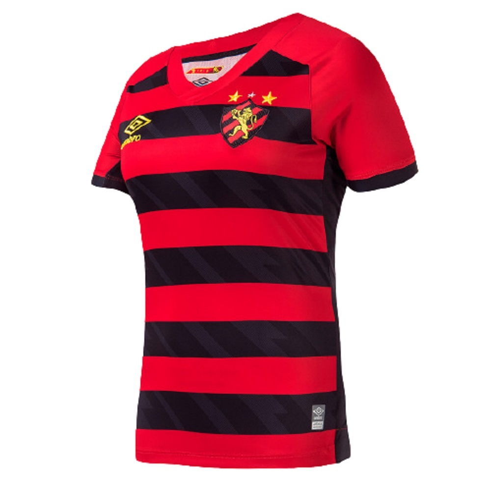 Camisa Sport Recife Umbro Torcedor Of.1 Feminino 21/22
