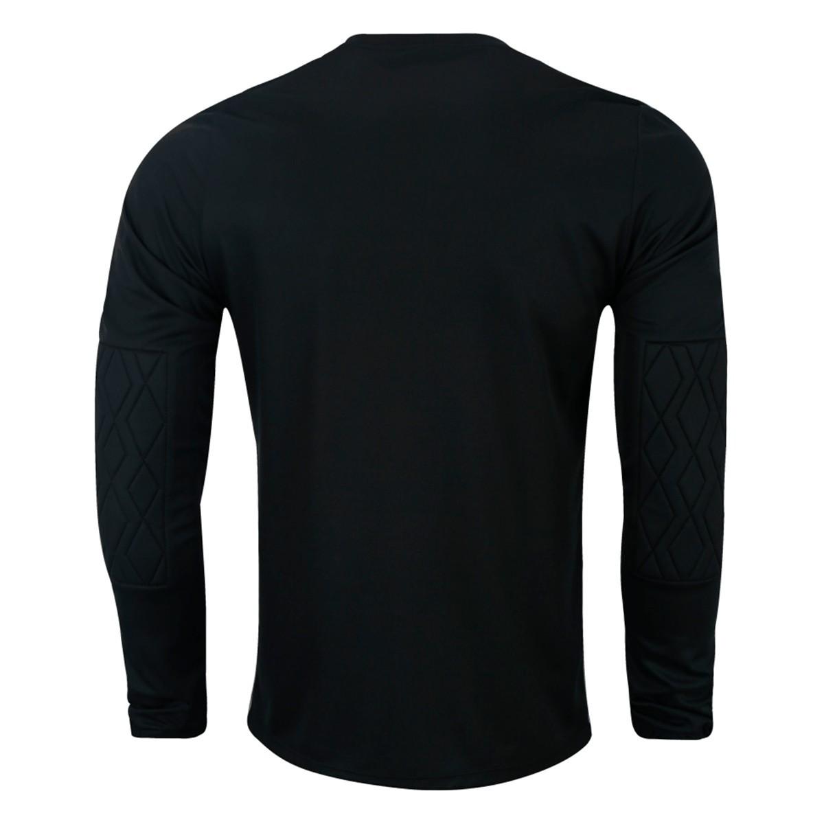 Camisa Umbro Goleiro ML Blast Masculino Cinza Preto