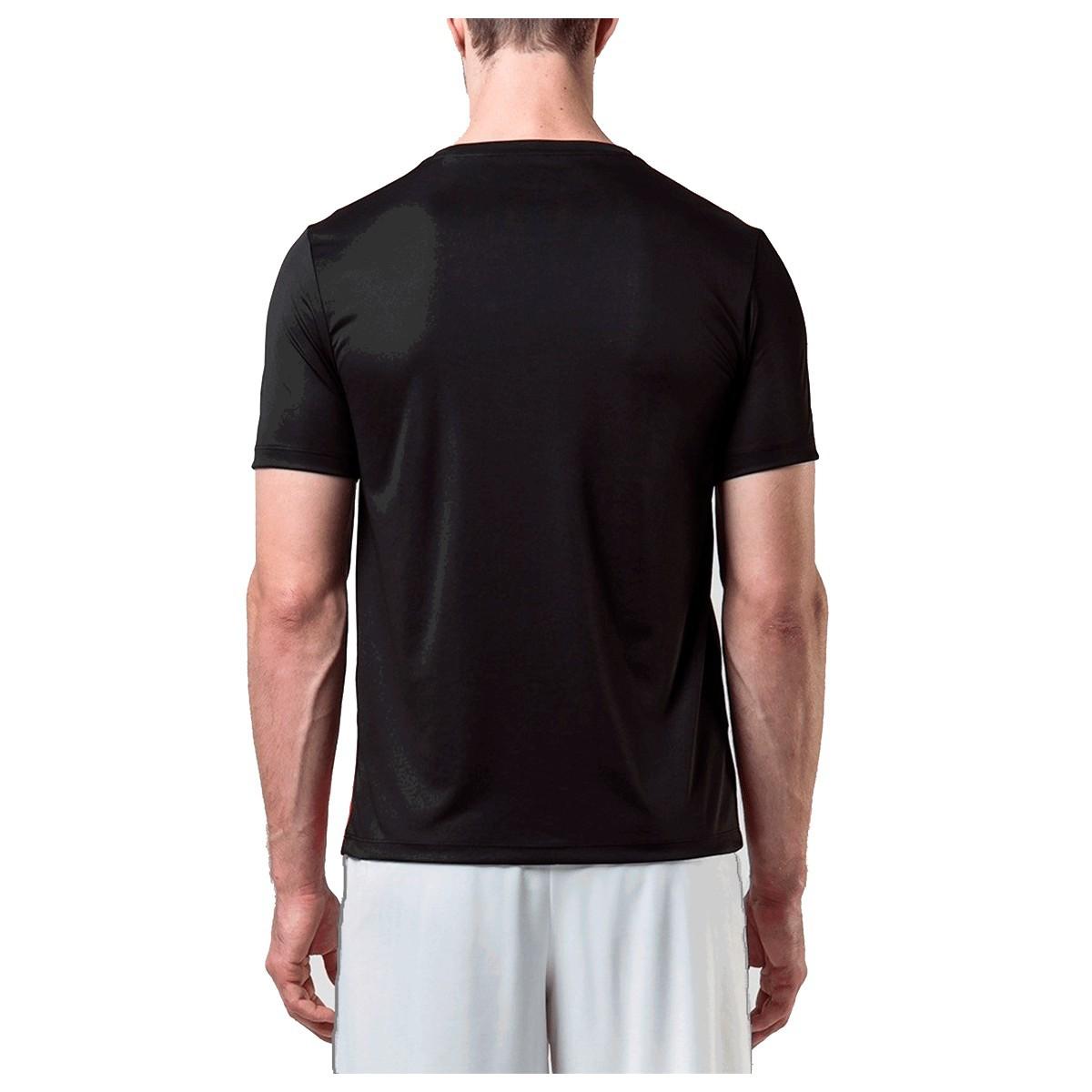 Camisa Umbro TWR Degrade Masculino Preto Vermelho