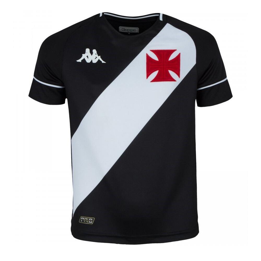 Camisa Vasco Infantil Of.1 20/21 Kappa S/N°