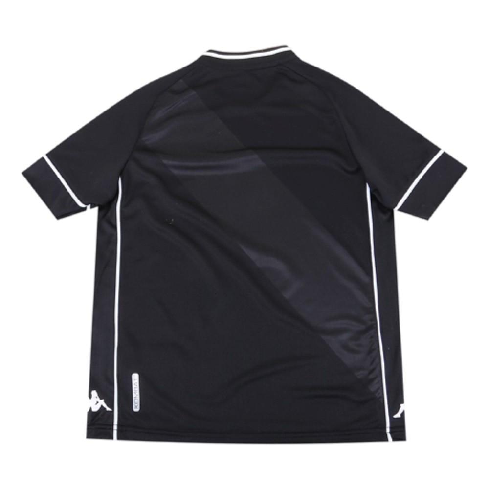 Camisa Vasco Juvenil Of. 1 20/21 Kappa  S/N° Torcedor Preta