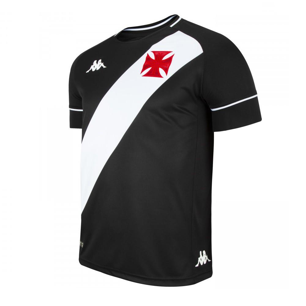 Camisa Vasco Of. 1 1 20/21 Kappa S/N Jogo Masculina Preta