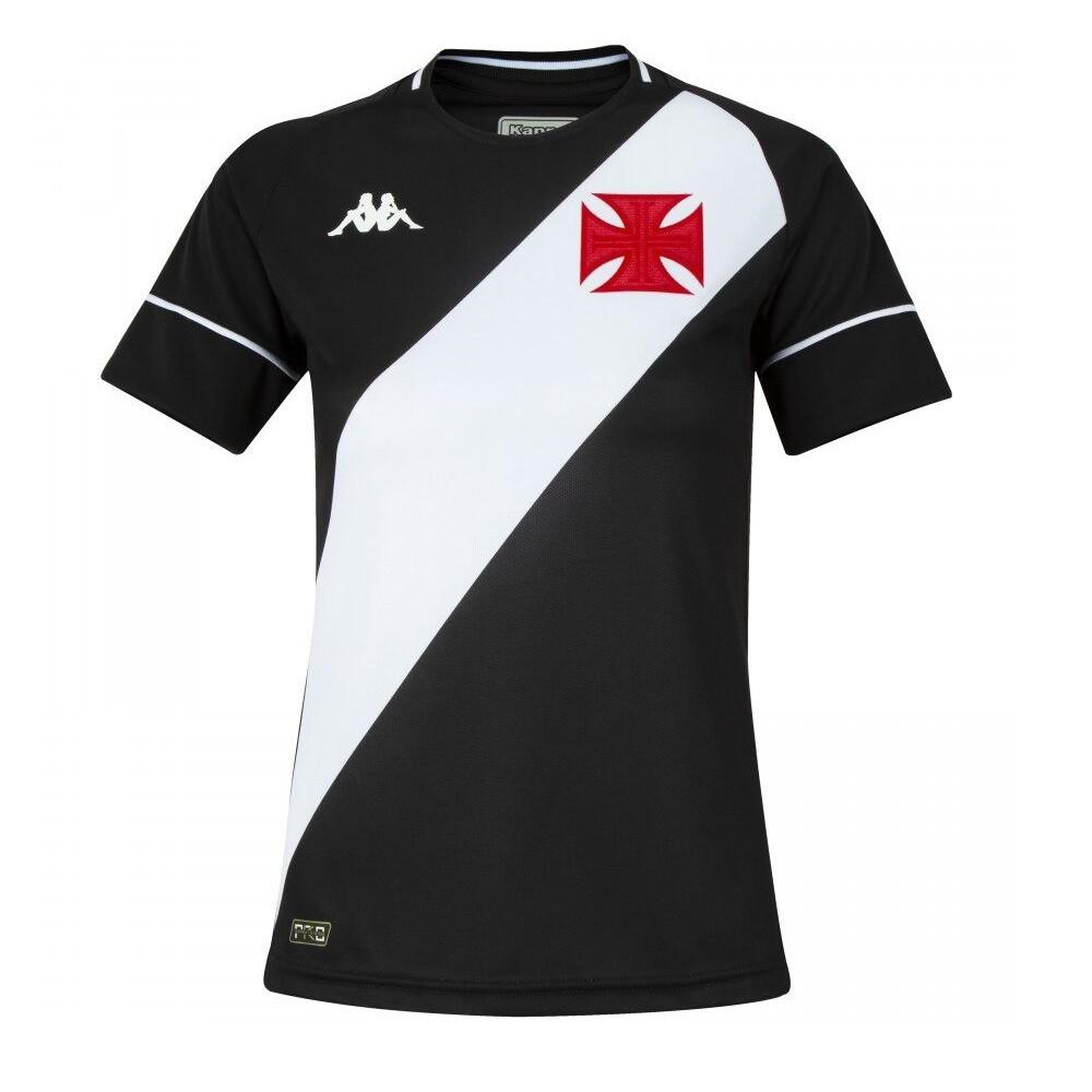 Camisa Vasco Of. 1 20/21 Kappa S/N Jogo Feminina Preta