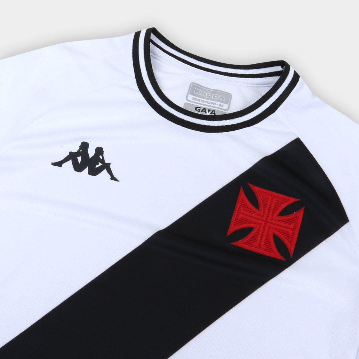Camisa Vasco Of. 2 20/21 s/n°  Kappa Masculina