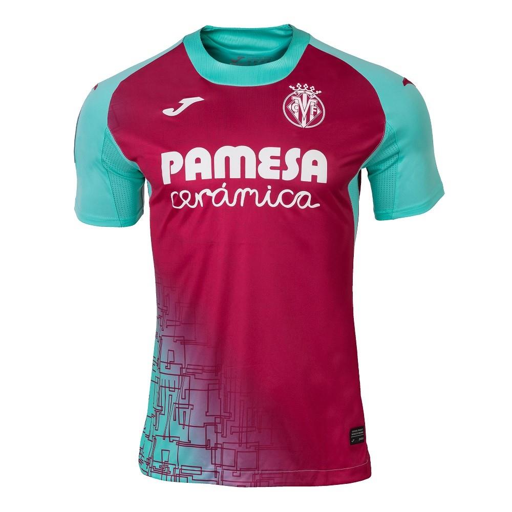 Camisa Villarreal Joma Third 20/21 Masculino Vermelho