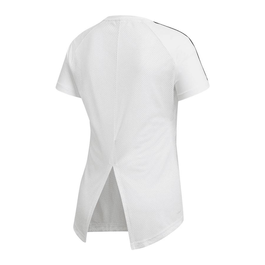 Camiseta Adidas Design 2 Move 3S Feminino Branco