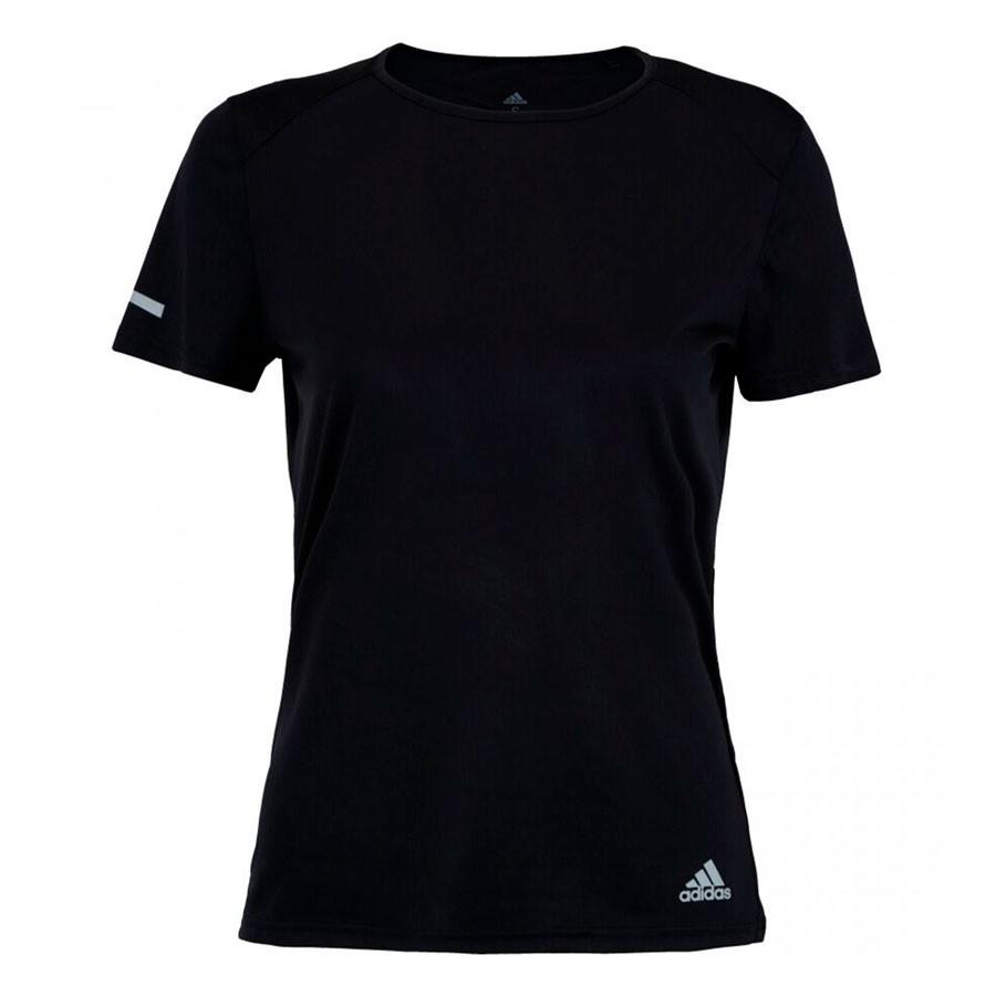Camiseta Adidas Run Feminino Preto