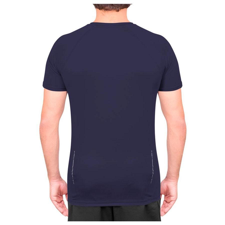 Camiseta Asics Logo SS Tee Masculino Azul Marinho