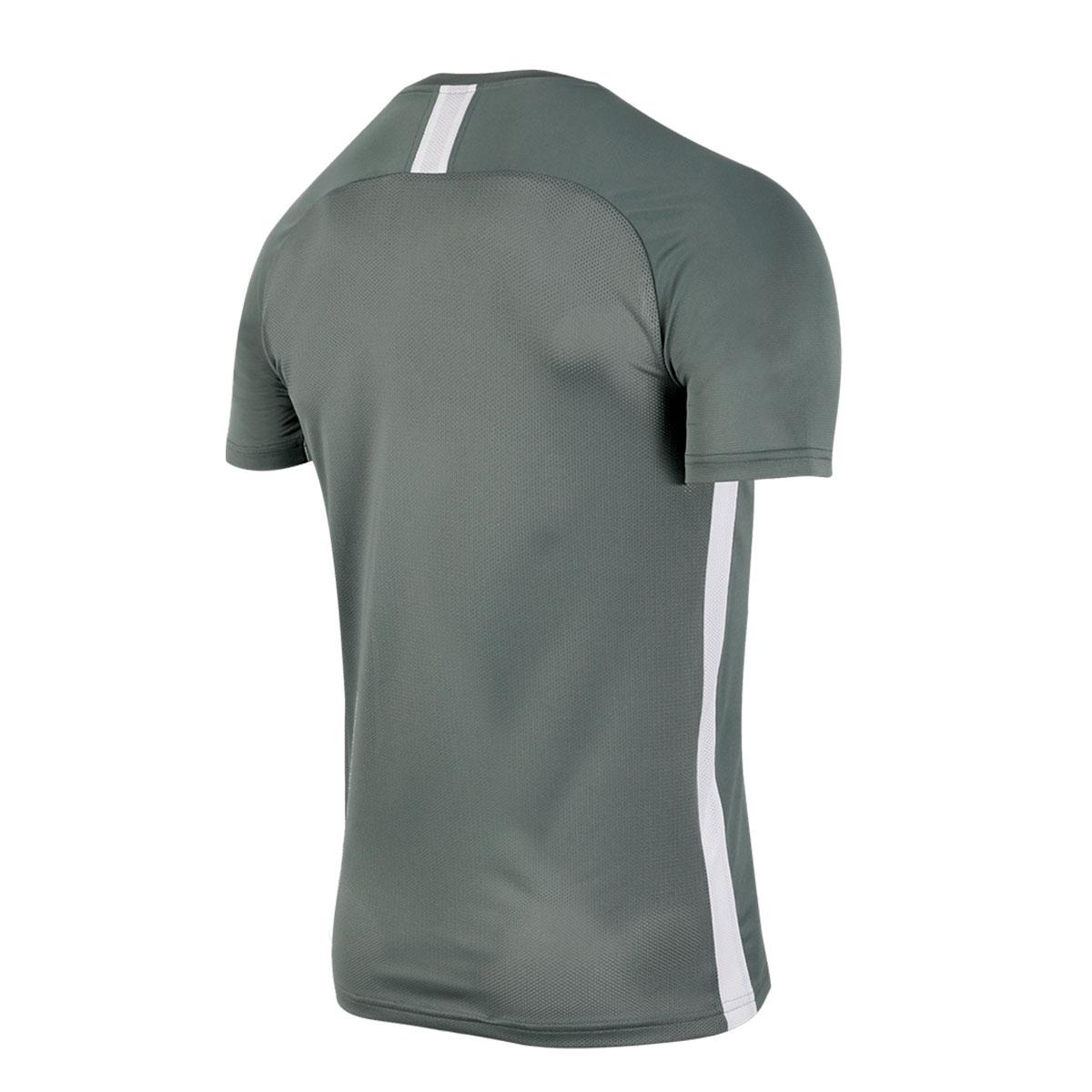Camiseta Corinthians Nike Dry Treino Cinza