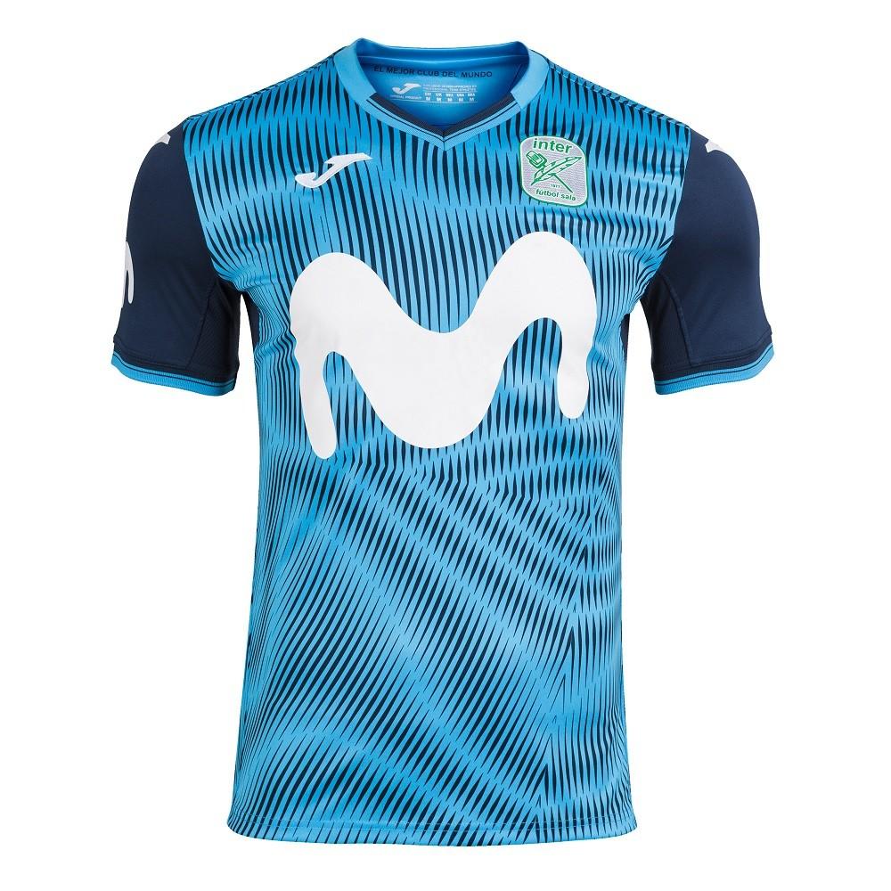 Camiseta Inter Movistar Futsal Home Masculino Turquesa