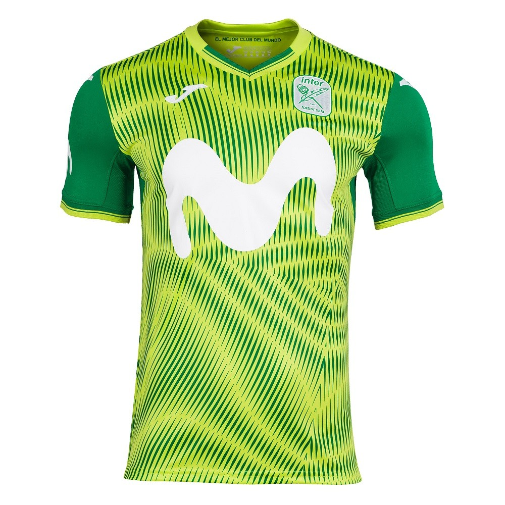 Camiseta Inter Movistar Futsal  Away Masculino Verde
