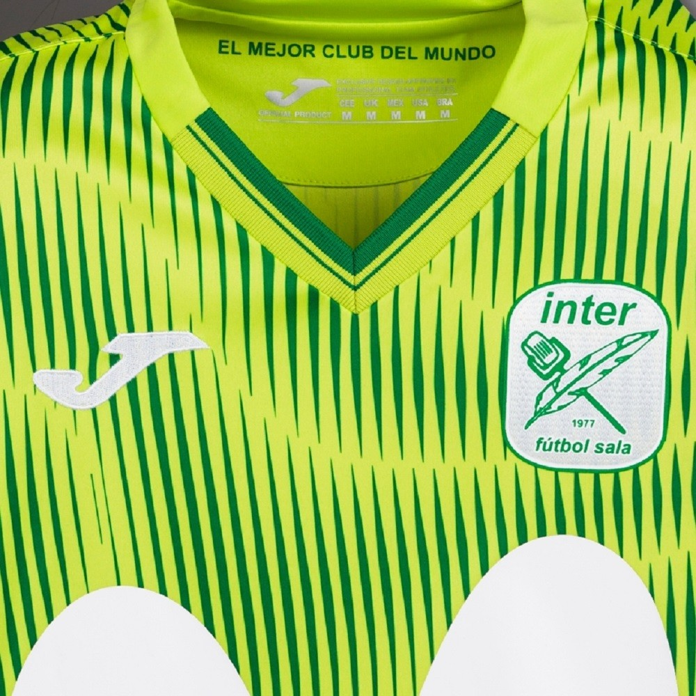 Camiseta Inter Movistar Futsal  Away Masculino Verde