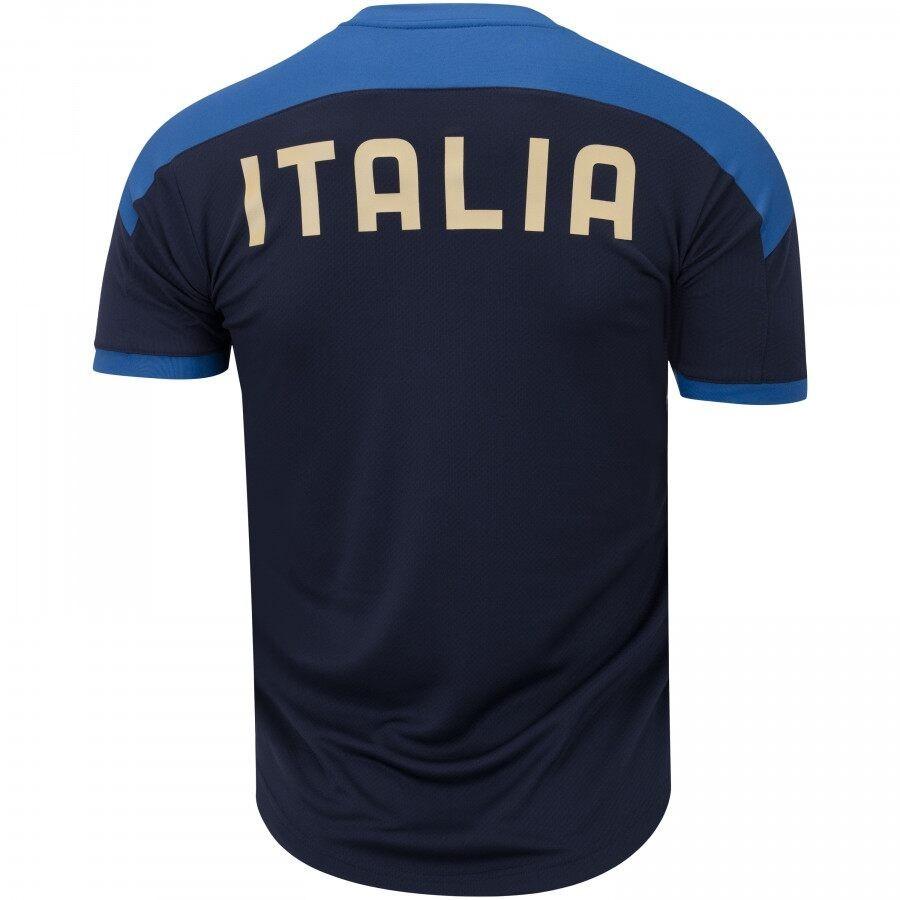 Camiseta Itália Puma Treino Masculino 20/21