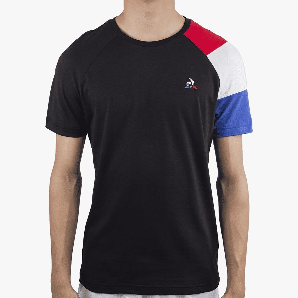 Camiseta Le Coq Sportif Bar a Tee Ess Tee SS N°10 Preta