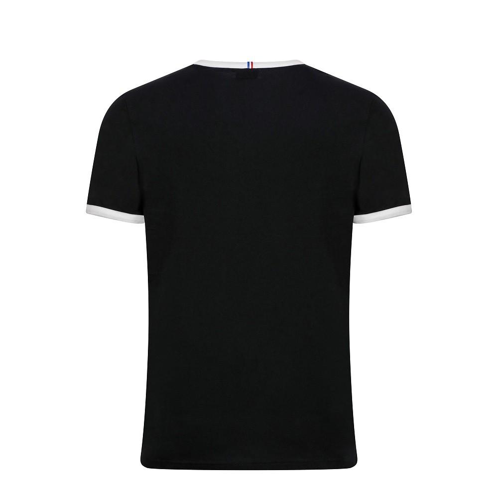 Camiseta Le Coq Sportif Bar a Tee Ess Tee SS N°3 Masculina Preto