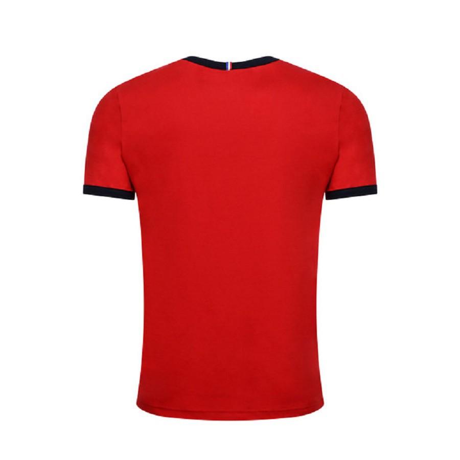 Camiseta Le Coq Sportif Bar a Tee Ess Tee SS N°3 Masculina Vermelho