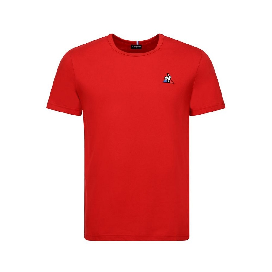 Camiseta Le Coq Sportif Essentiels Ess Tee SS N°2 Vermelha