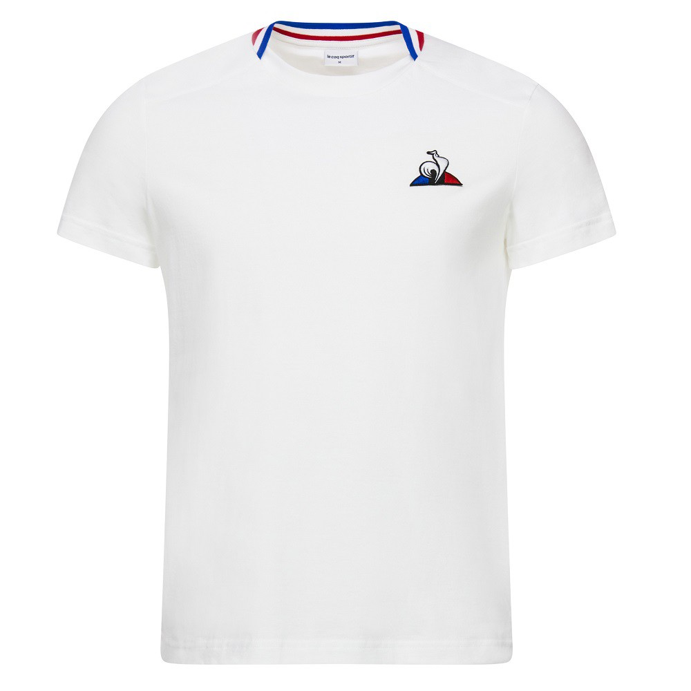 Camiseta Le Coq Sportif Tricolore Masculino Branco