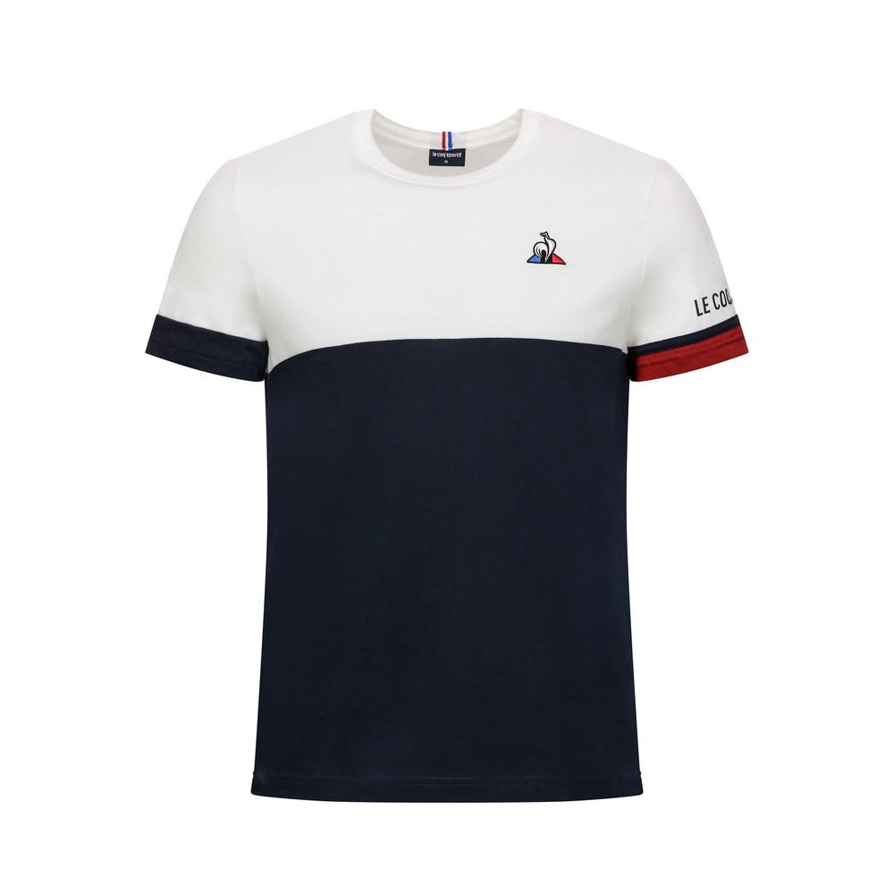 Camiseta Le Coq Tri Tee Ss N.1 Branco Marinho