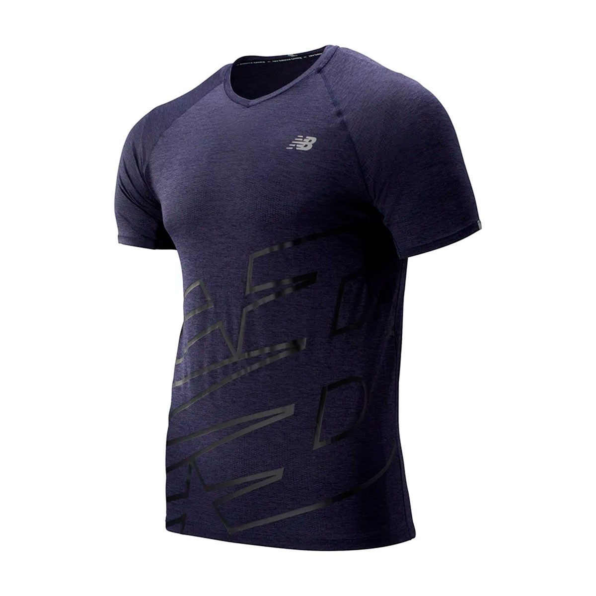 Camiseta New Balance 2.0 Ice Masculino Azul
