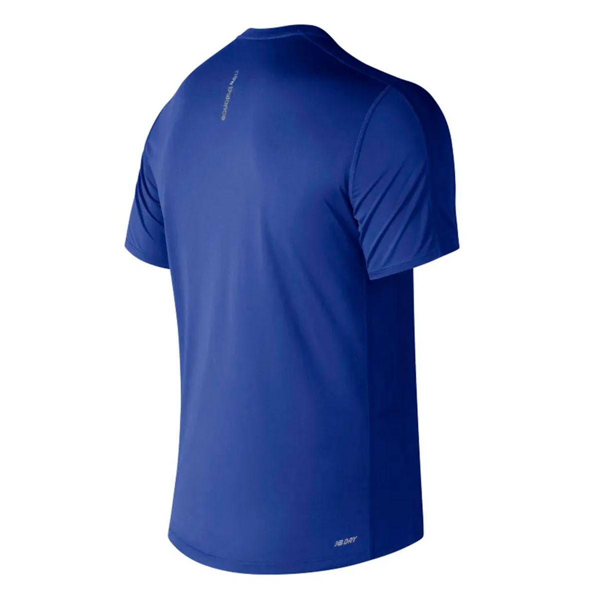 Camiseta New Balance Accelerate Masculino Azul