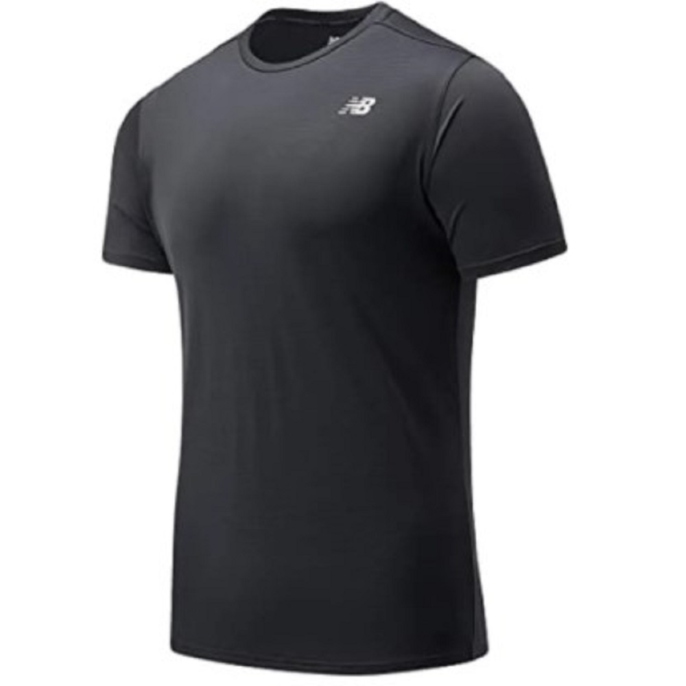 Camiseta New Balance Accelerate SS -  Preta - Masculina