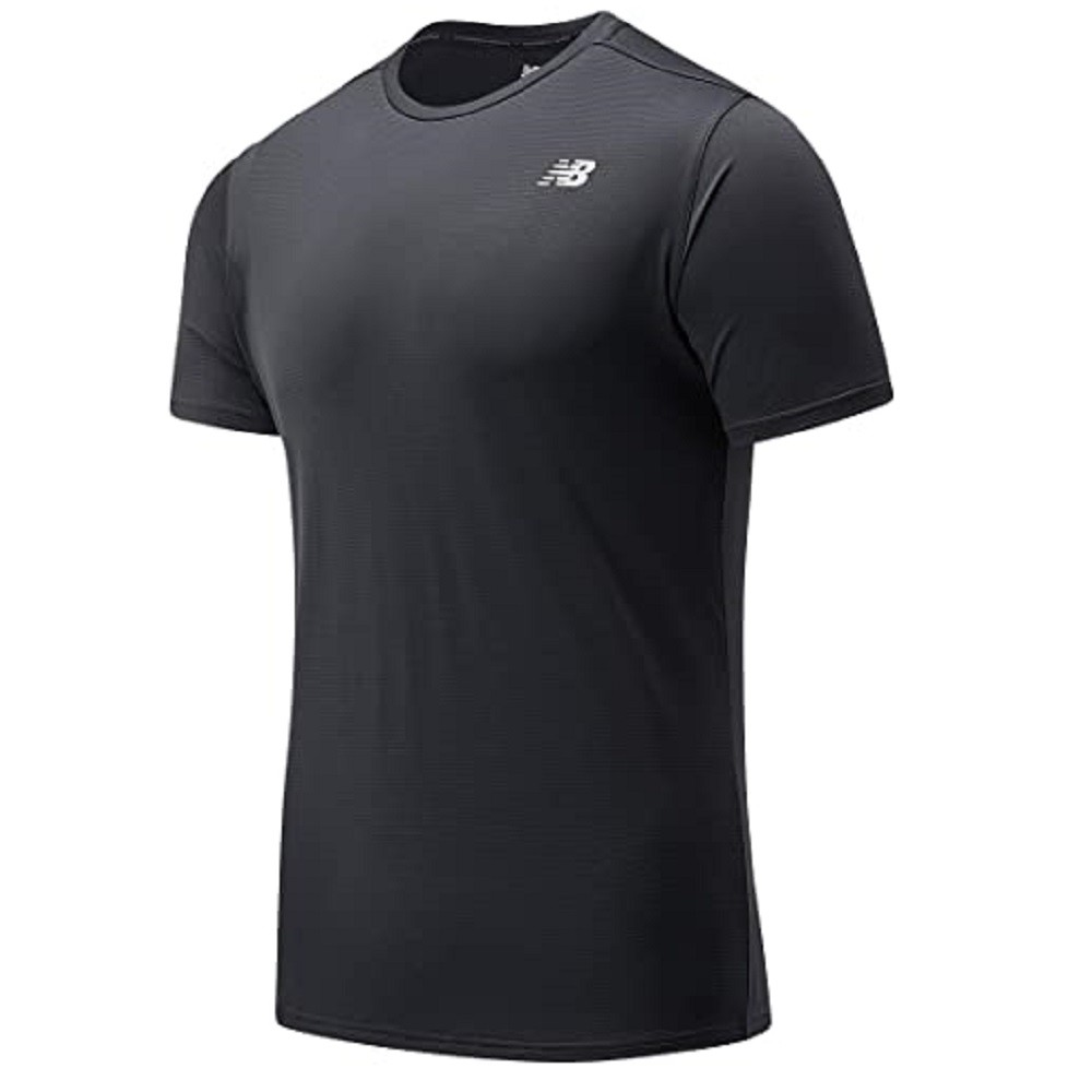 Camiseta New Balance Accelerate SS Preto  Masculina