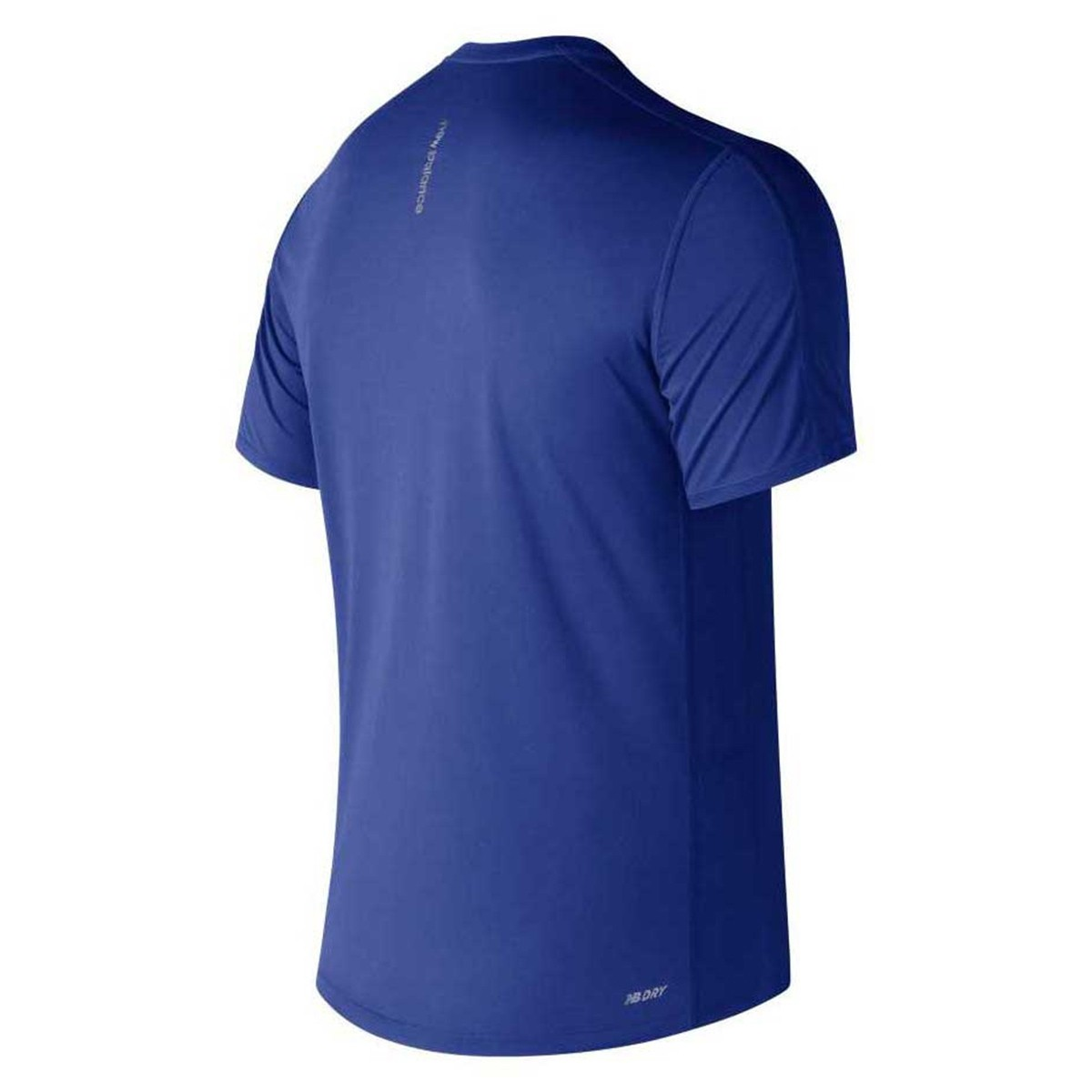 Camiseta New Balance Accellerate S/S - Azul - Masculino
