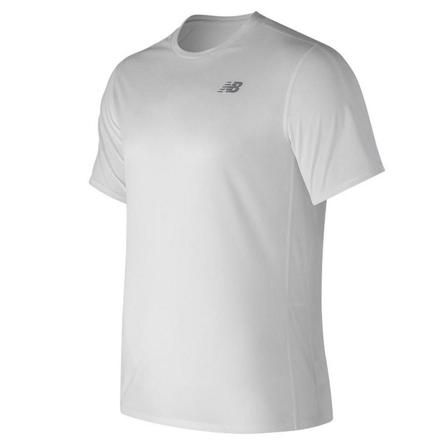 Camiseta New Balance M/C Masculino Branco