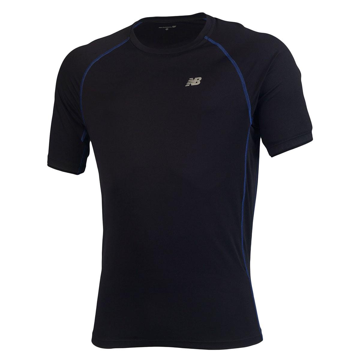 Camiseta New Balance M/C Raglan Masculino - Preto