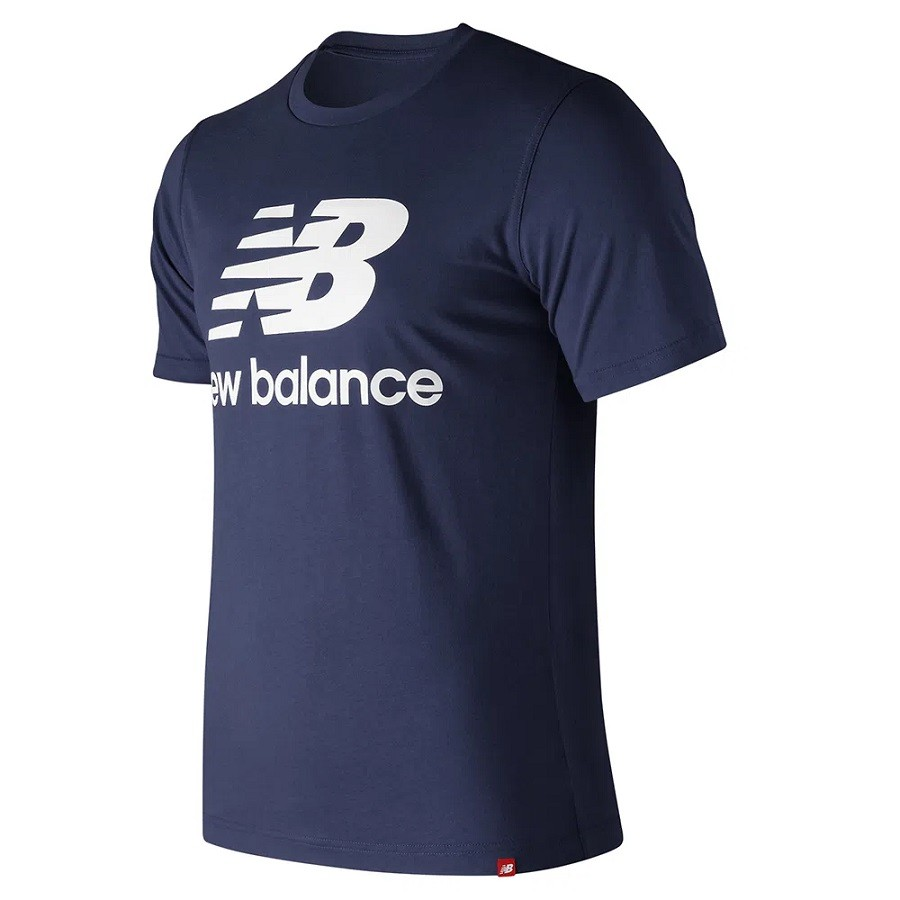 Camiseta New Balance NB Logo Masculino Azul Marinho
