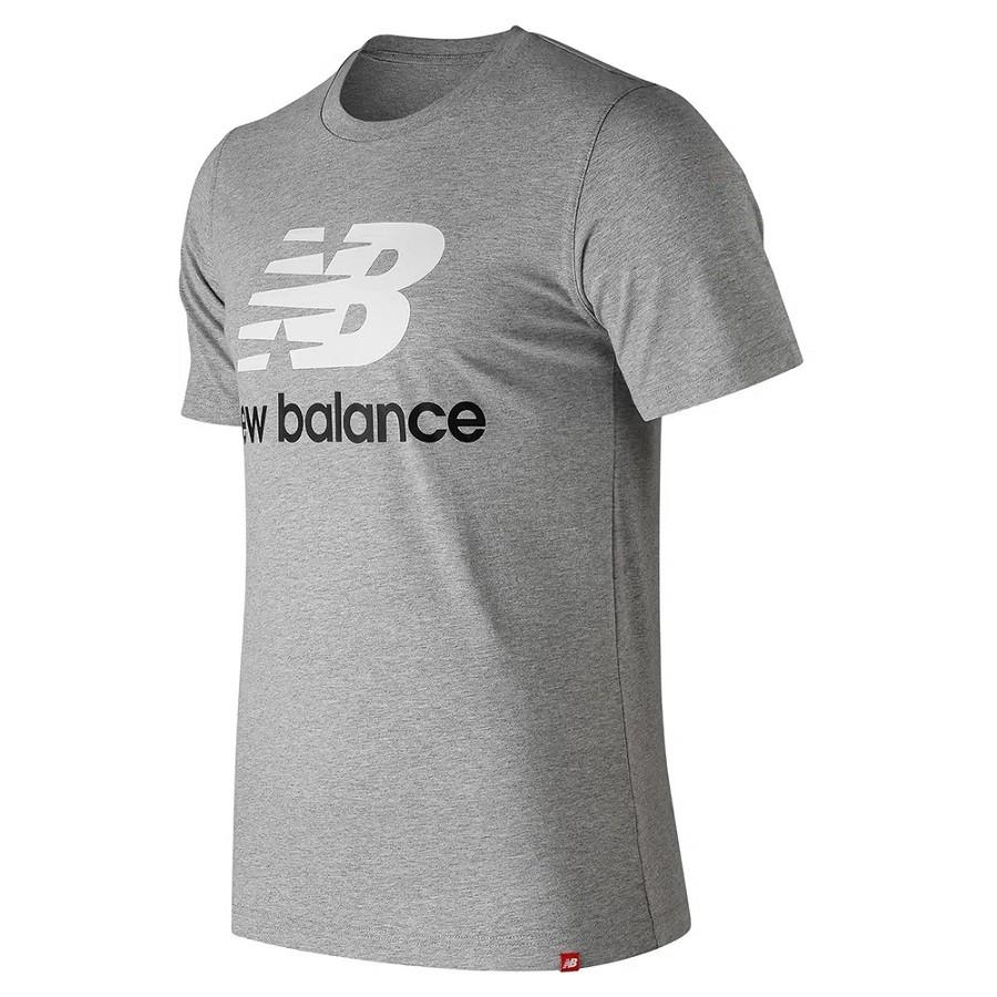 Camiseta New Balance NB Logo Masculino Cinza