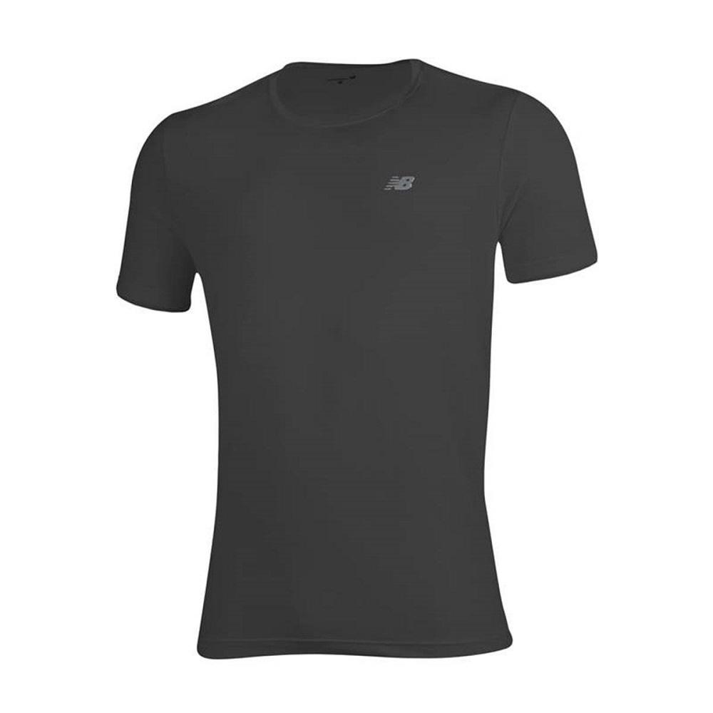 Camiseta New Balance Poliamida Performance Masculino Preto