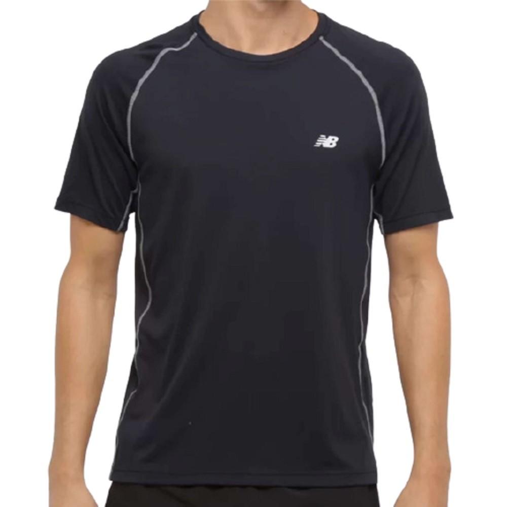 Camiseta New Balance Raglan Performance Masculino Preto