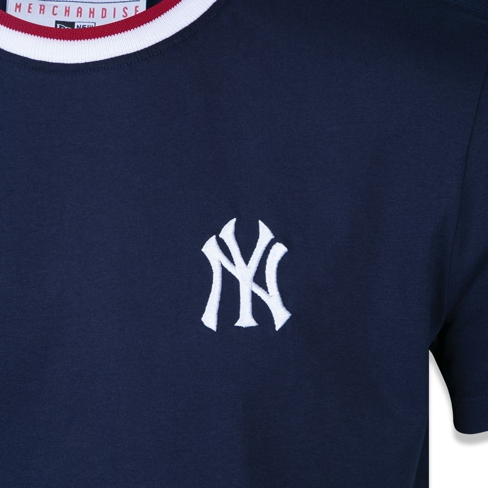 Camiseta New York Yankees Mlb Marinho New Era