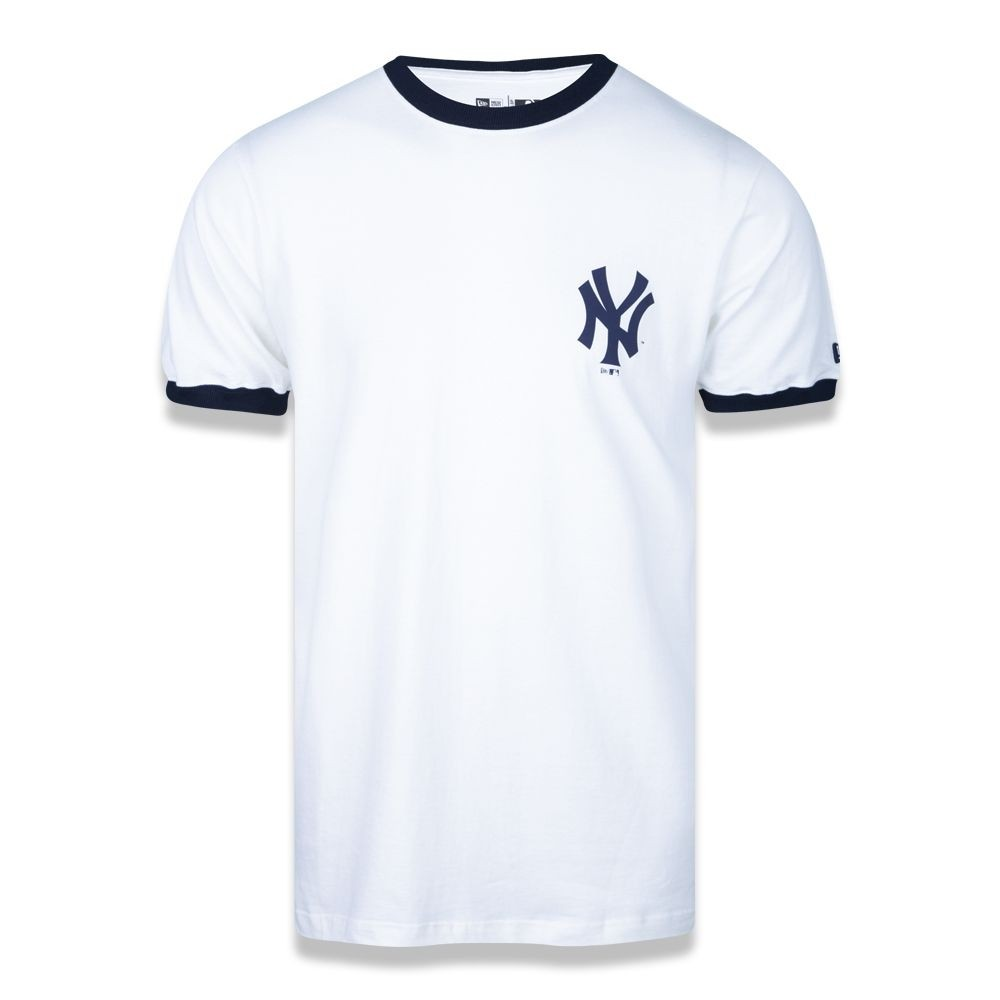Camiseta New York Yankees Mlb Off White New Era