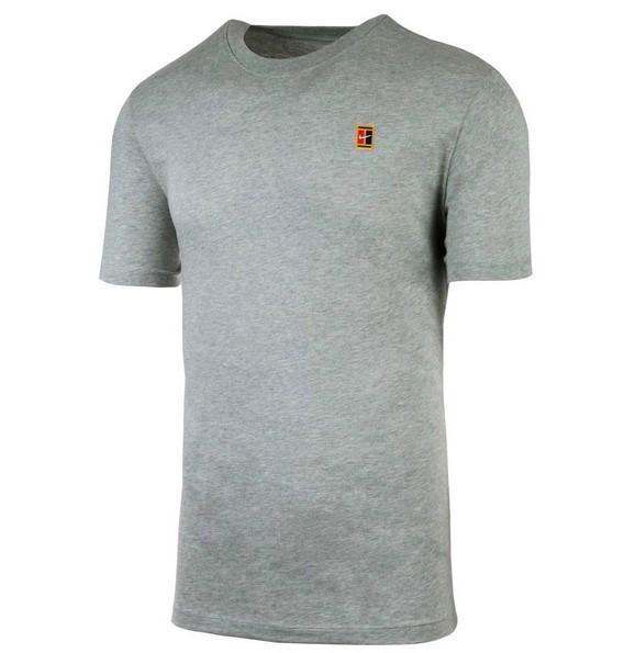 Camiseta Nike Court Heritage Cinza
