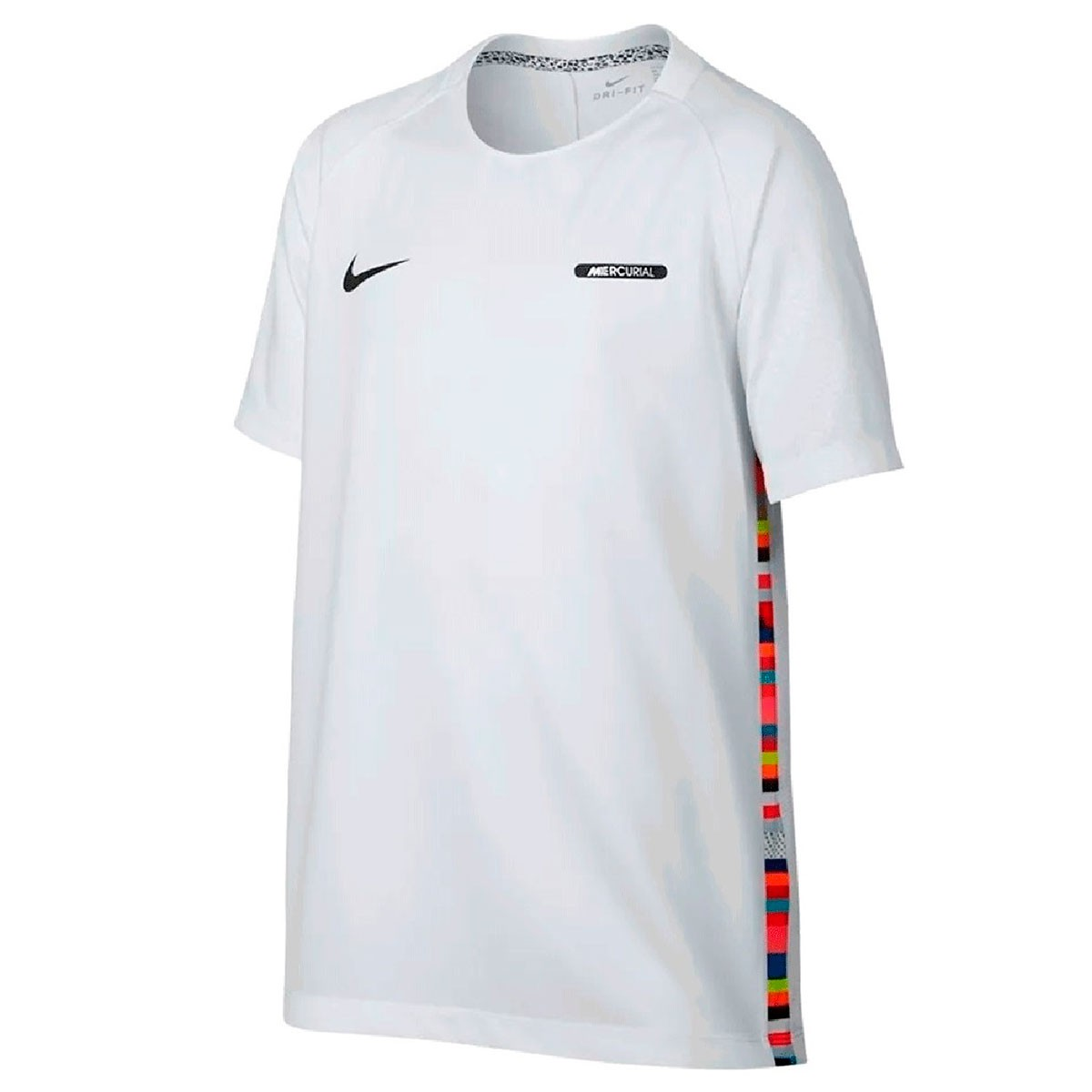 Camiseta Nike Dri-Fit Mercurial CR7 Infantil Branco