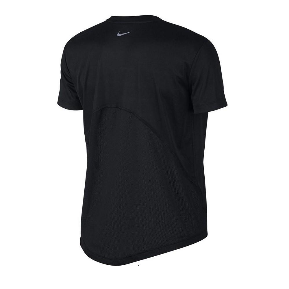 Camiseta Nike DRI-FIT Miler Feminina Preta
