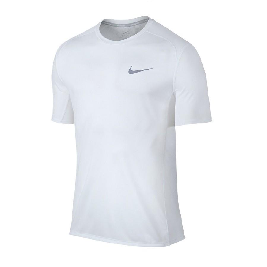 Camiseta Nike Dri-Fit Miler Top Feminina Branca