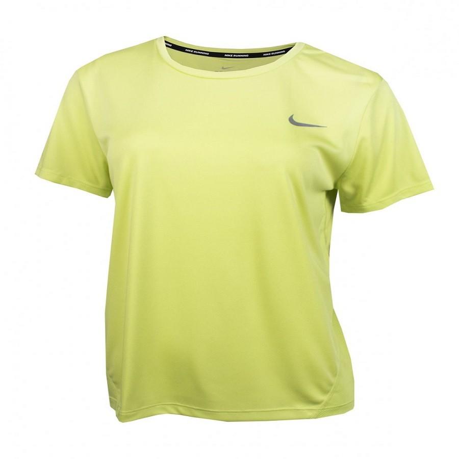Camiseta Nike Dri-Fit Miler Top Feminina Verde