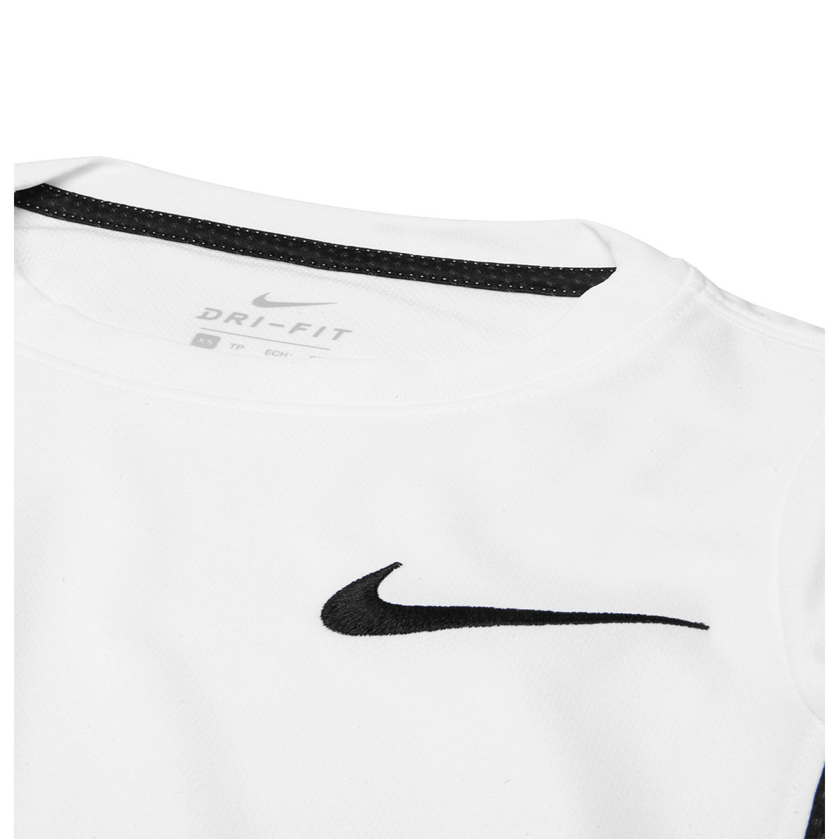 Camiseta Nike Dri-FIT Top SS Infantil Branco