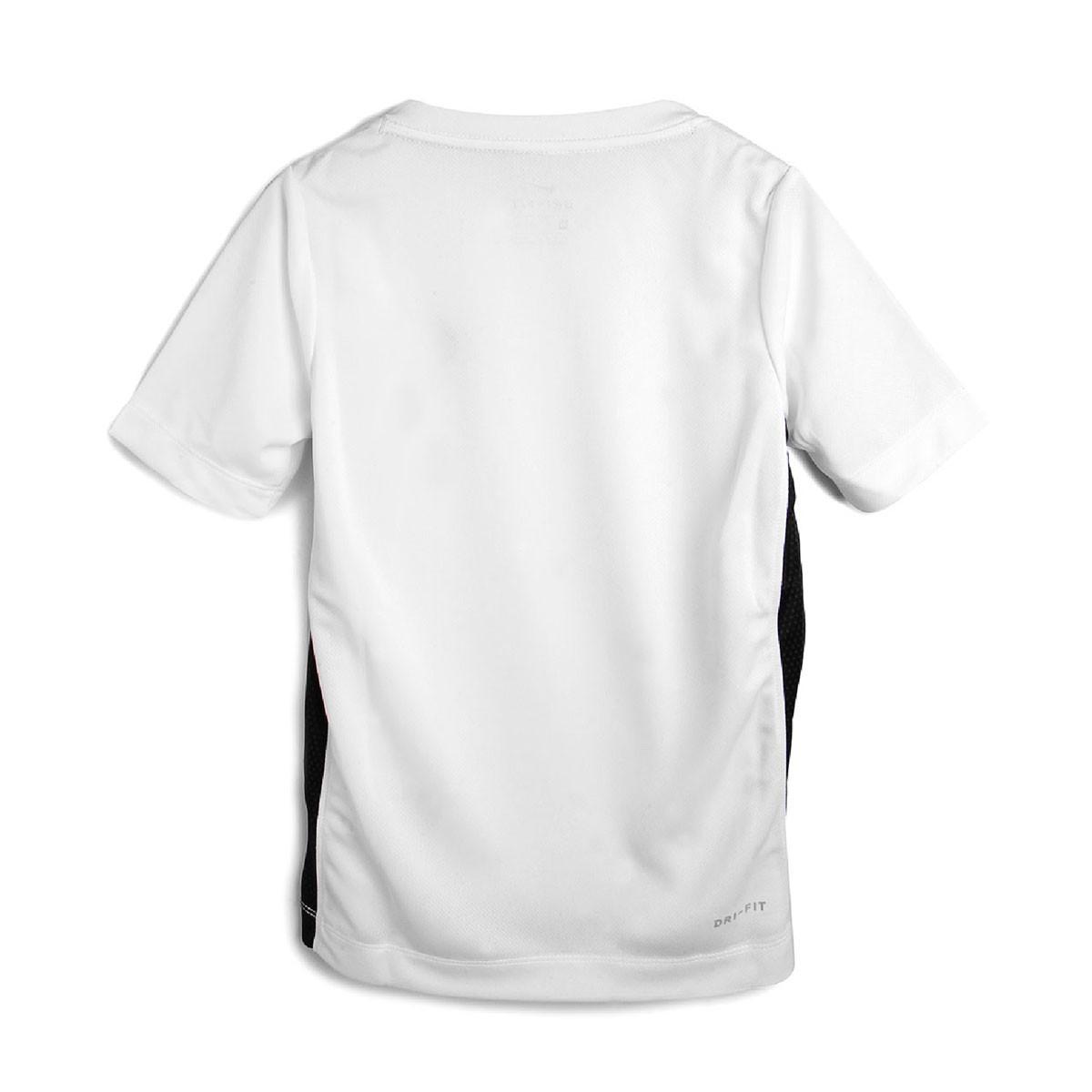 Camiseta Nike Dri-FIT Top SS Infantil Branco