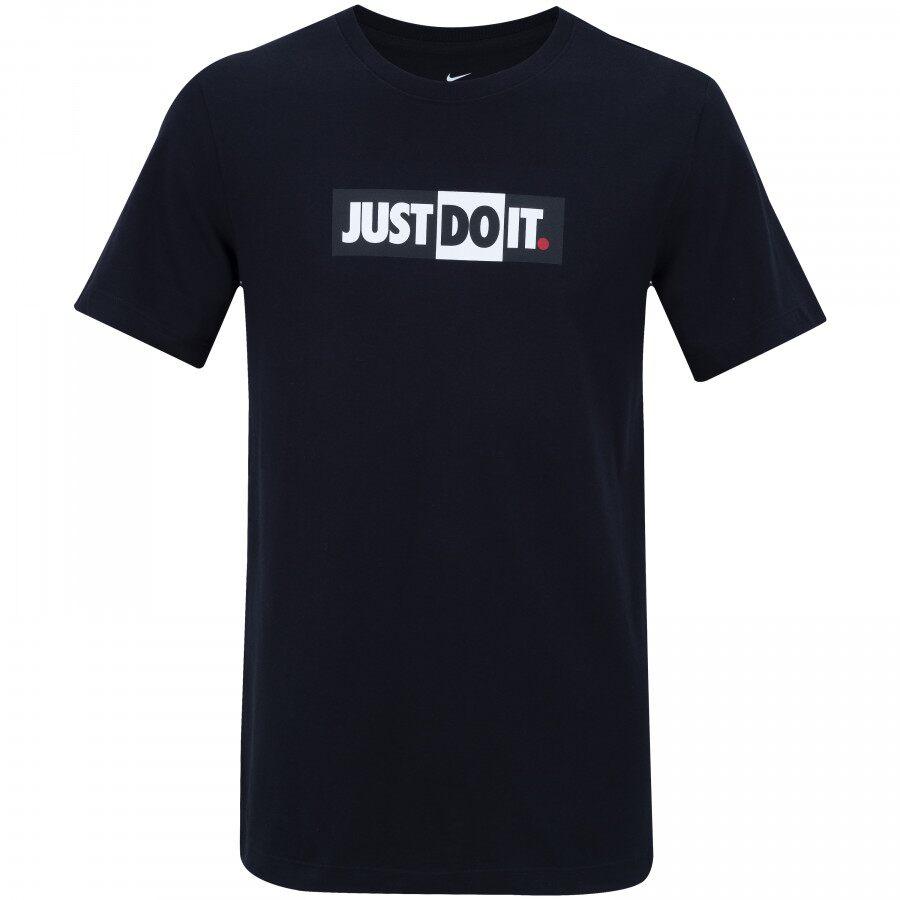 Camiseta Nike Just Do It Bumper Masculina Preto