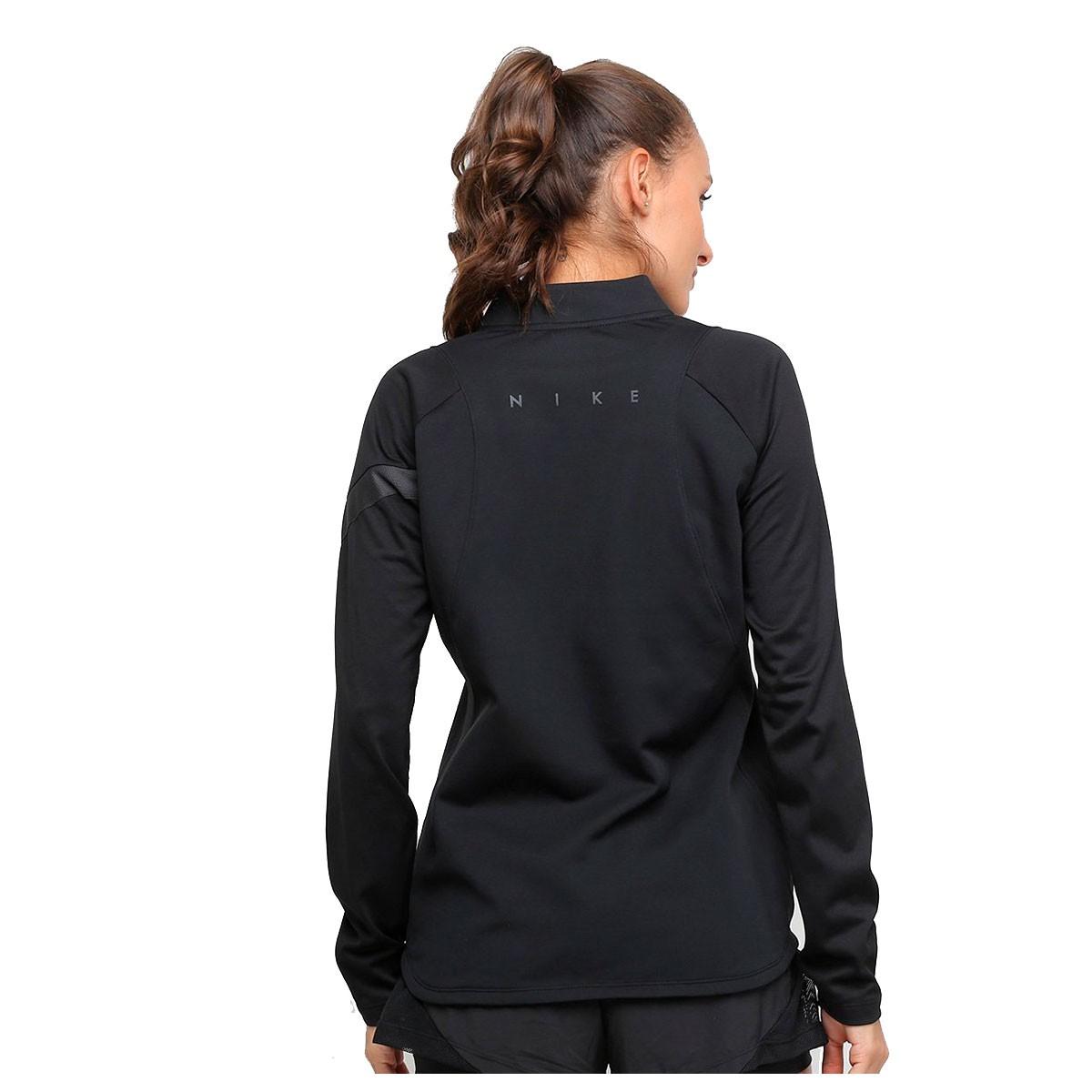Camiseta Nike Longa Dry Dril Feminino Preto