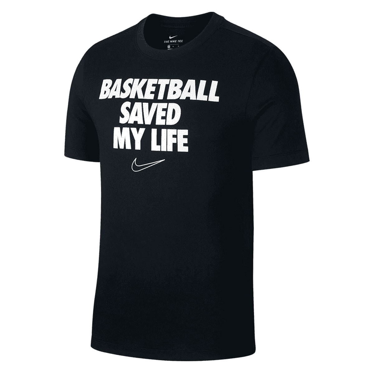 Camiseta Nike NBA Verbia Dri-Fit Preto