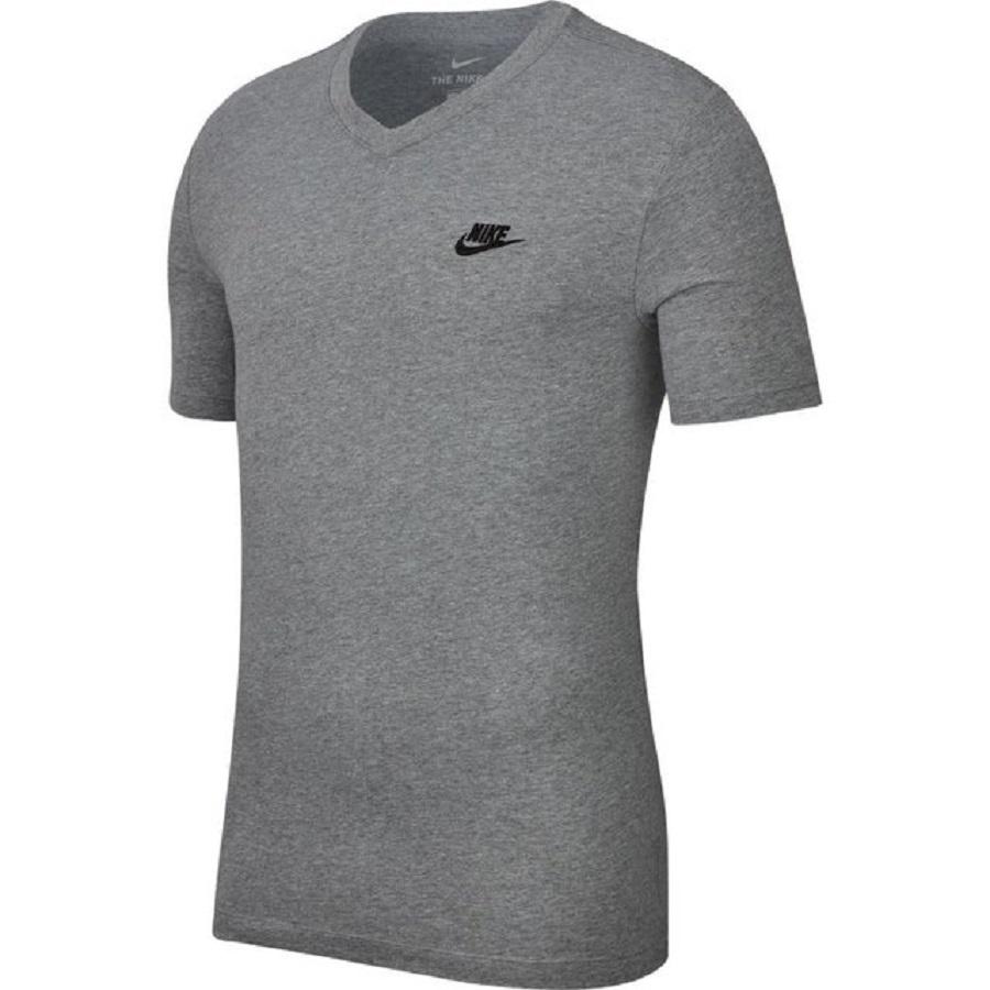 Camiseta Nike Nsw Vnk Club Masculina Cinza