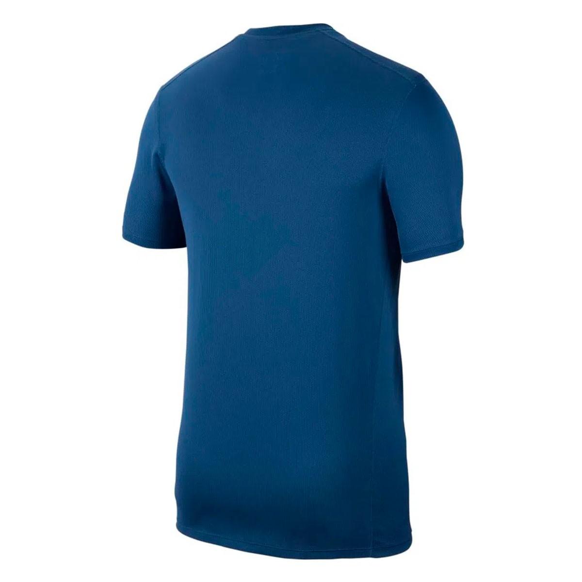 Camiseta Nike Run SS Fiesta Azul