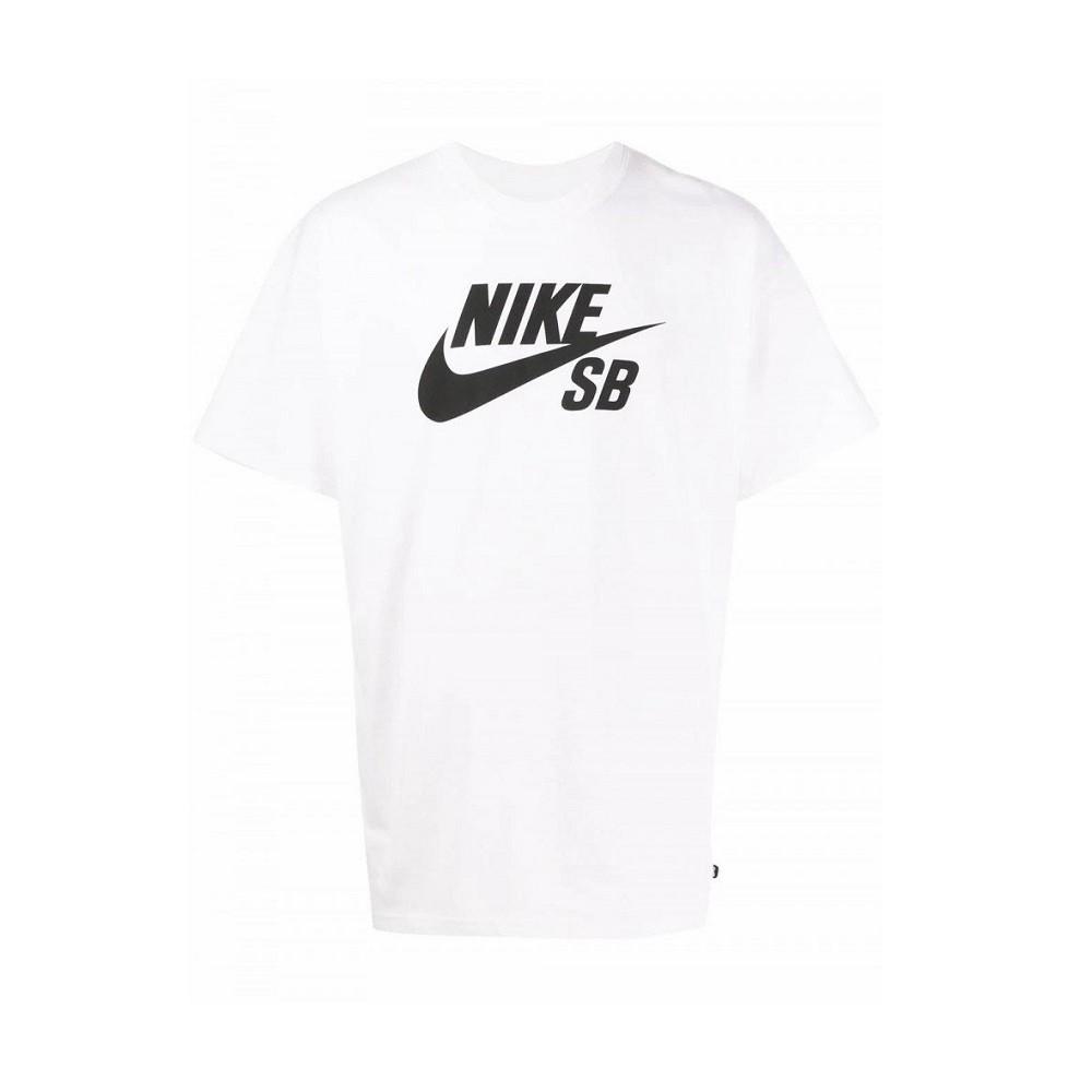 Camiseta Nike SB Dri-Fit Masculino - Branco e Preto P